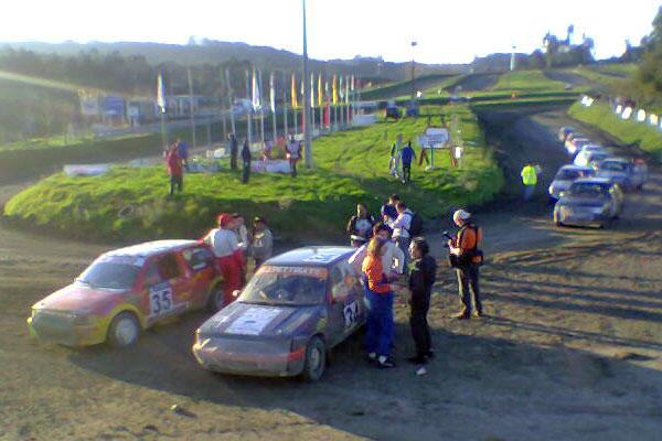 Foto de las 4 horas de resistencia Autocross Arteixo