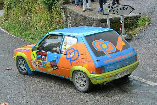 Foto del XV Rallye do Albariño