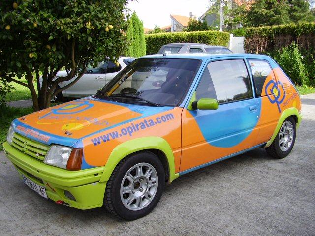 Exterior del 205 Rallye