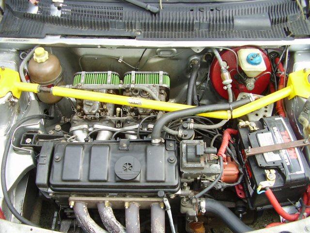 Motor del 205 Rallye