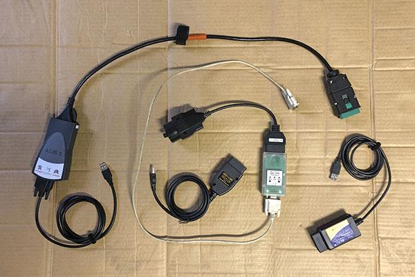 Cables de autodiagnosis